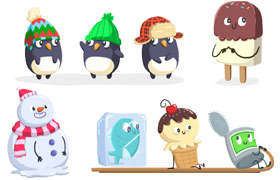 Frosty Hills Characters